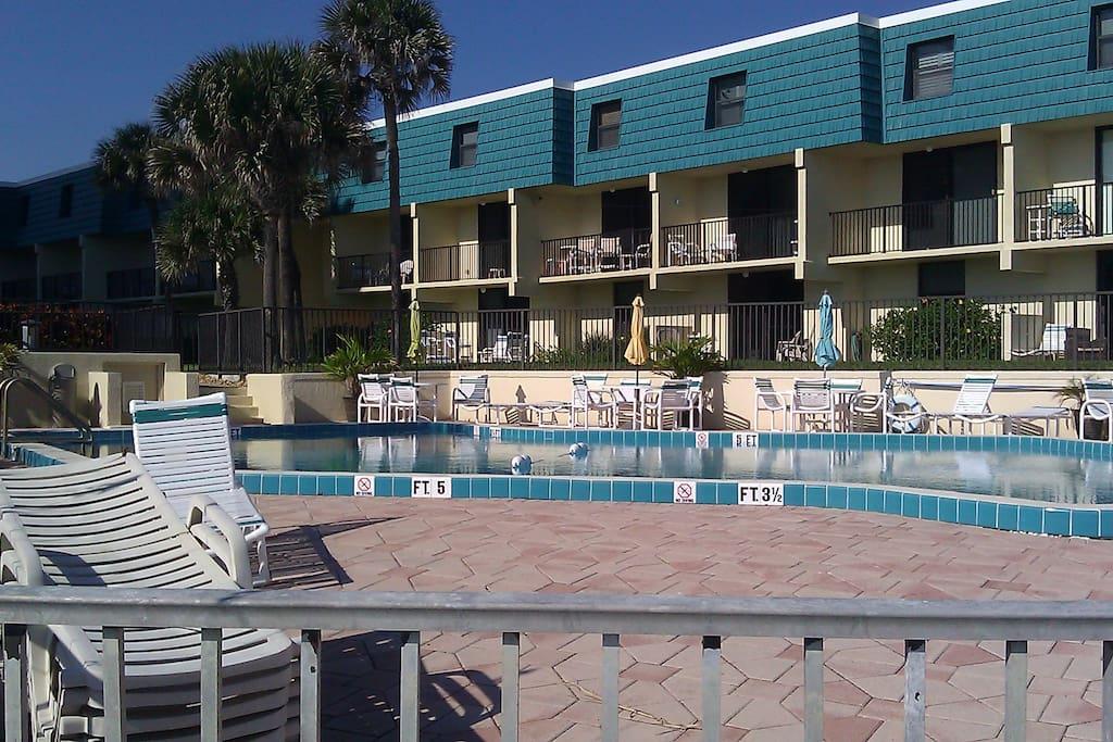 Pool Looking West