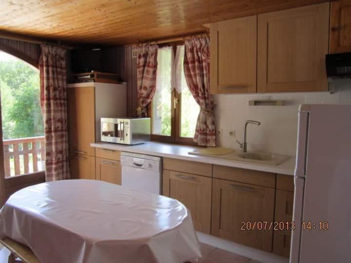 superbe appartement dans chalet