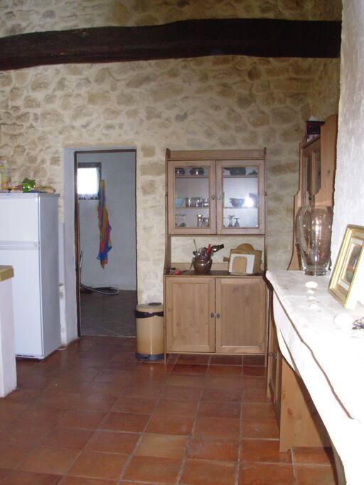 Wohn-Küchenraum