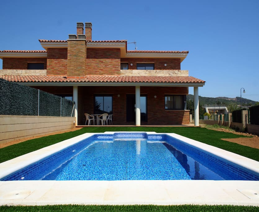 Private House Swimming Pool Beach 1 Houses For Rent In Roda De Bar Catalonia Spain