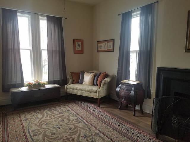 Belvidere, NJ  apartment,  recently renovated.