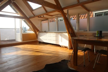 A Loft with a View - Róterdam - Apartamento