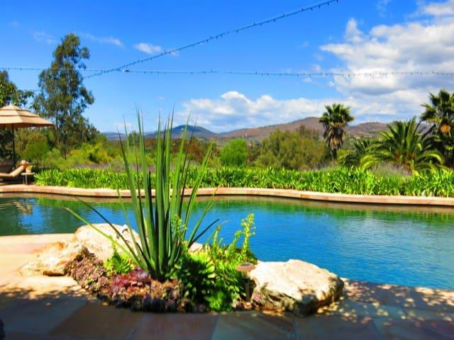 Estate w/Tennis&Pool nr beach, golf - Rancho Santa Fe