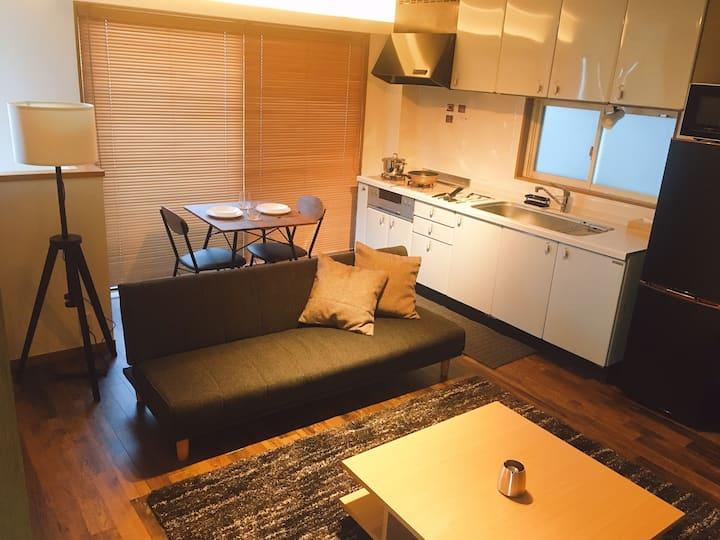 【Goto対応】Chill Inn 方南~2LDKデザイナーズ駐車場付き一軒家/Wi-Fi完備~