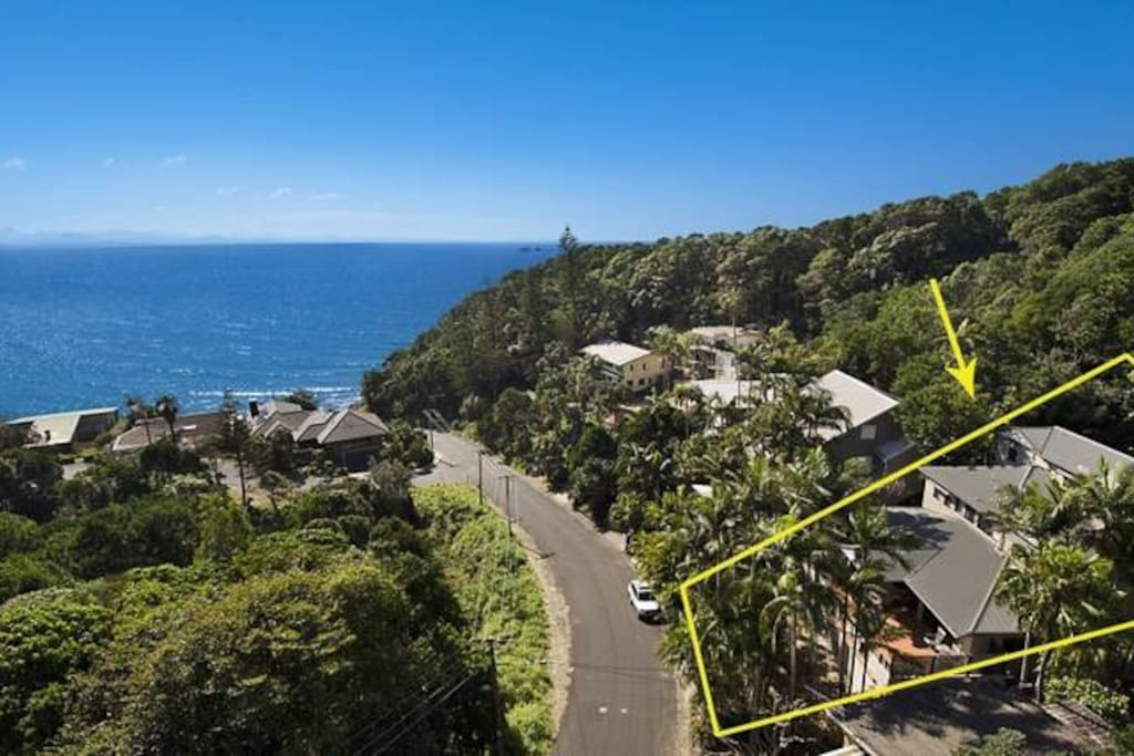 Property is located only 100 meters to the beach