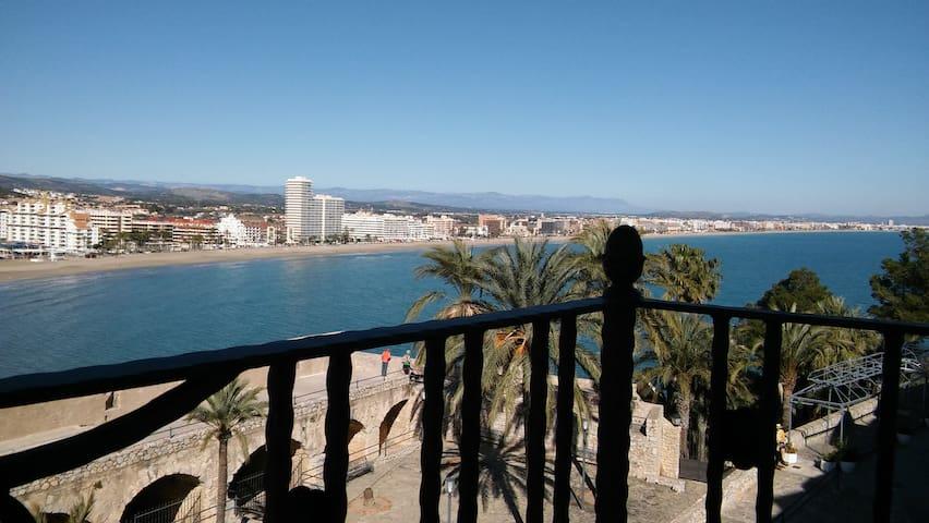 Casa con fantásticas vistas al mar3 - Пенискола - Квартира