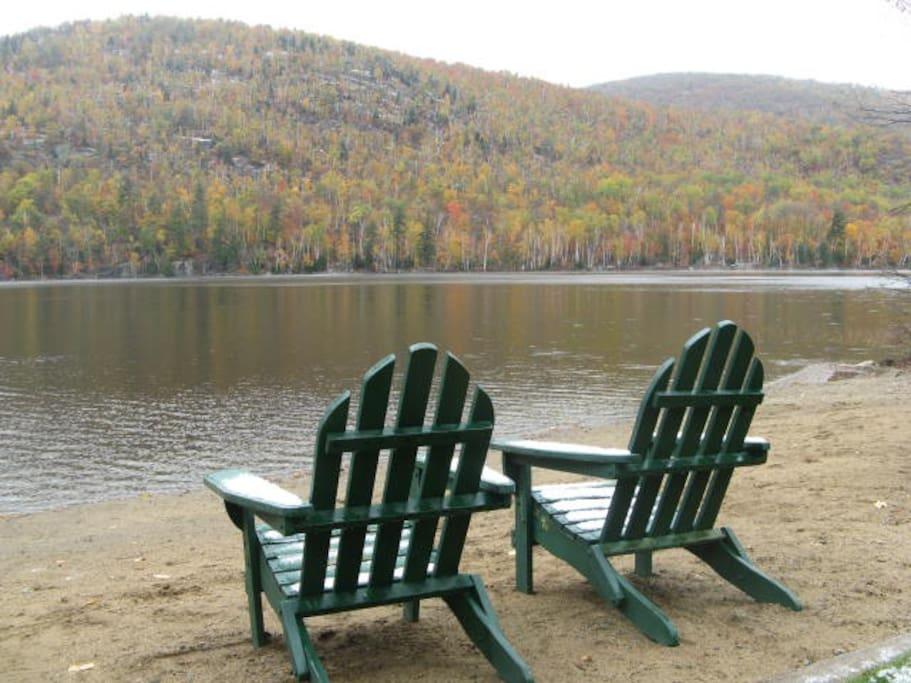 Majestic Thirteenth Lake in Autumn