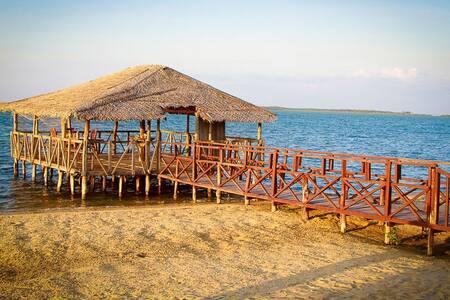 2 Bedroom Ocean View Pavilion Suite - Kalpitiya