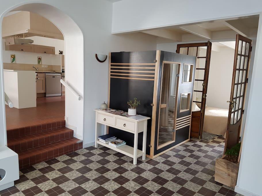 gite sauna 4km mer 10km granville maisons de ville louer br hal normandie france. Black Bedroom Furniture Sets. Home Design Ideas