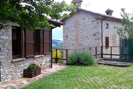 Nature and relax on the hills in Val Trebbia - Rumah