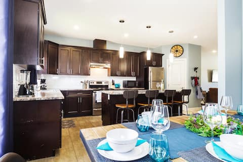 Enjoy open concept living. Once you stay with us, you'll never go back to a hotel ever again.