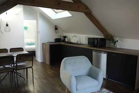 Gîte meublé dans le triangle Rennes/Fougères/Vitré - La Bouëxière - Wohnung