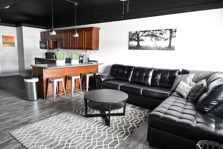 Harrison Lofts: A Modern Getaway Place! - Farmington - Loft