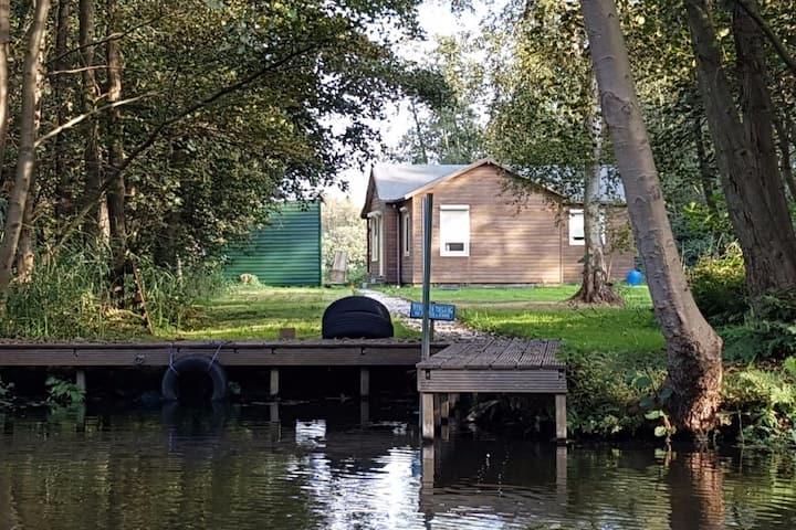 prive eiland nabij Amsterdam (16km) privacy&natuur