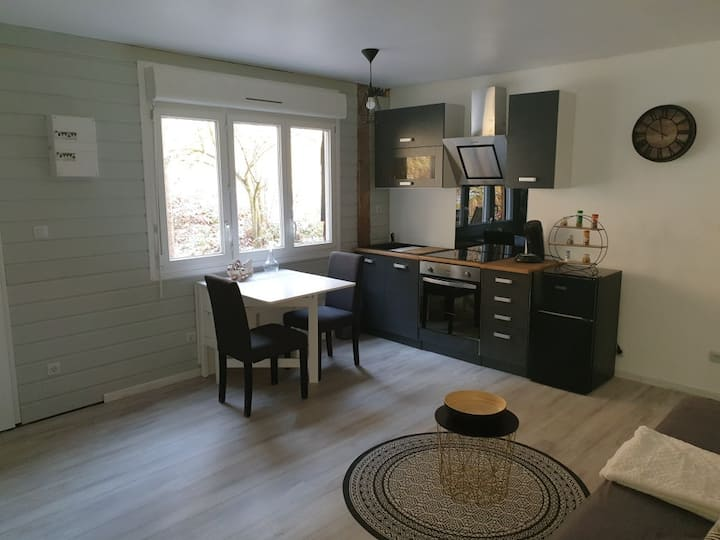 Appartement neuf cosi, proche de tous loisirs