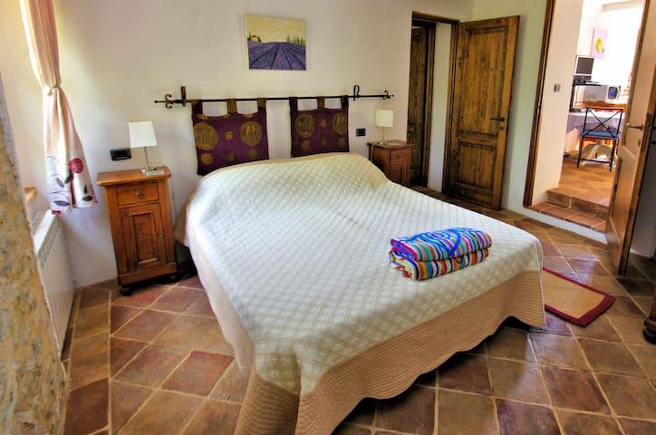 Double bedroom with ensuite bathroom