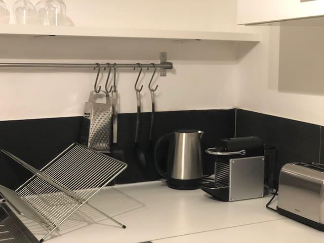 bouilloire, nespresso, grille pain