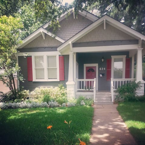 Cute Highland Cottage - Shreveport - Hus