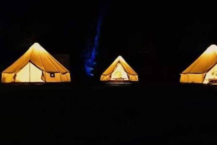 GLAMPING FOR 1-2 PERSONS