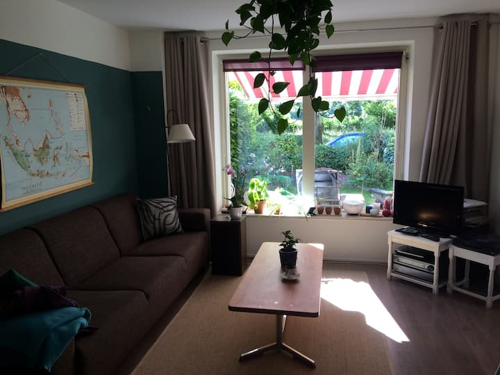 Quiet and spacious 3 bedroom house in Groningen