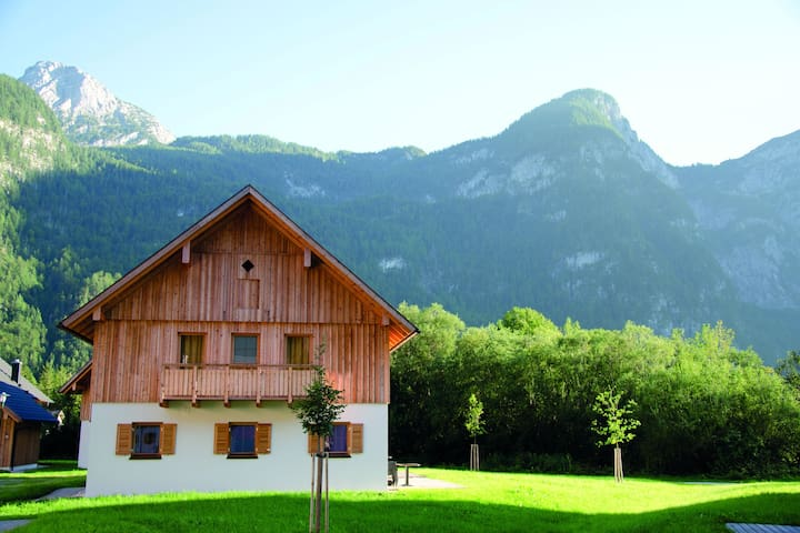 Cozy Chalet in Obertraun with Swimming Pool