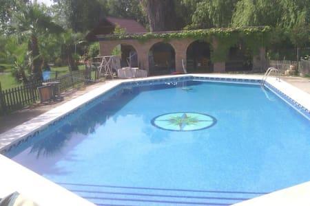 El Arrozal.Private pool and garden. - Casa de camp
