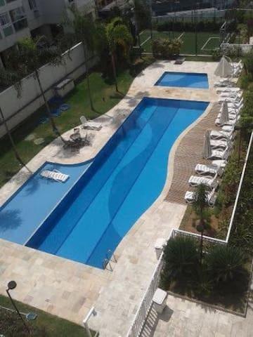 Apartment next to Olimp stadiums - Rio de Janeiro - Condominio
