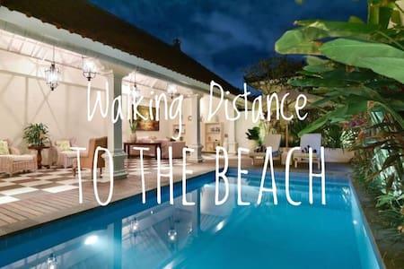 2 BR Villa 5 Mins to Beach,Seminyak> - Villa