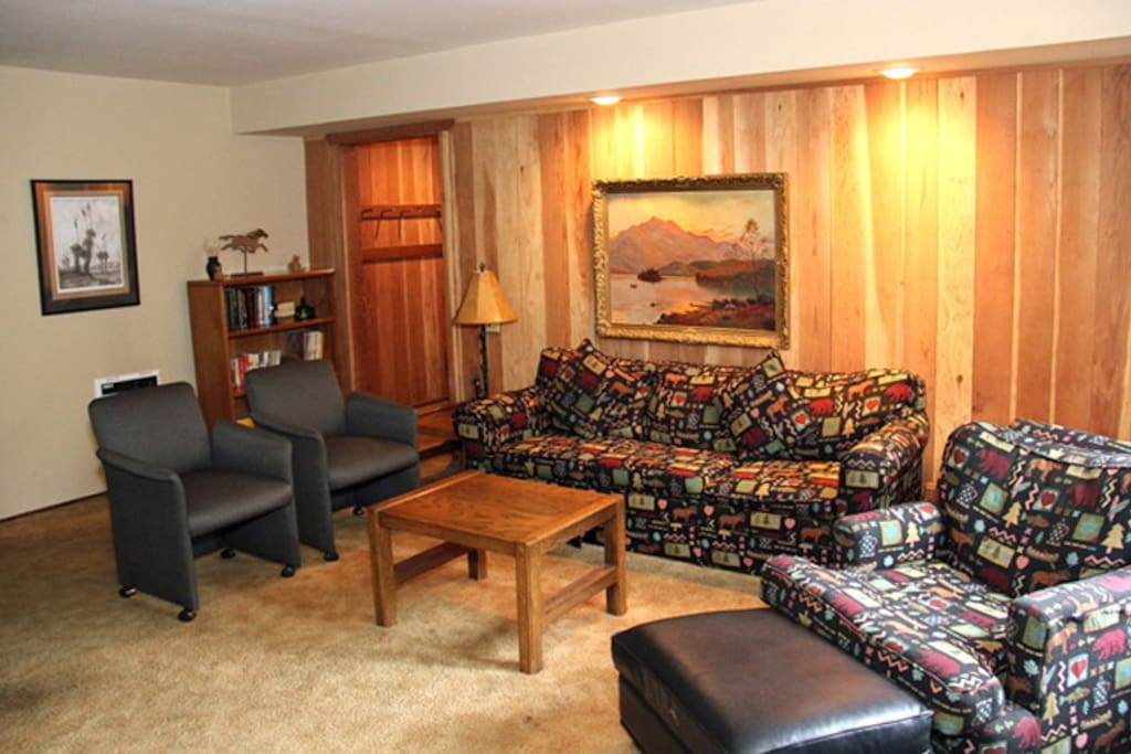 Mammoth Lakes Vacation Rental Horizons IV 161 Living Room
