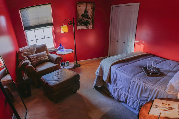 The Red Room - Peaceful and Cozy - Egg Harbor Township
