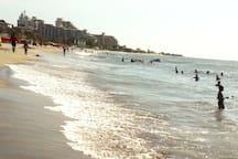 Nice ocean view & beach at 3 blocks. Plaza Zazue