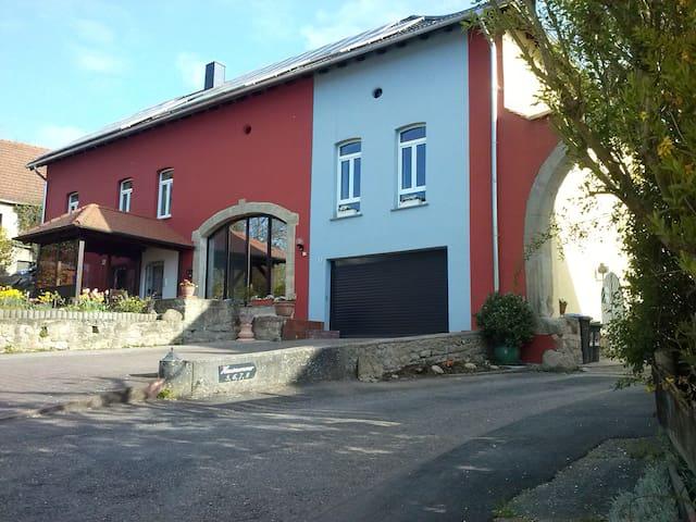 Gästehaus Neumühle/Mandelbachtal/EZ - Mandelbachtal - House