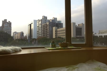 Big window and nice view for 1-2p - Zhongshan District