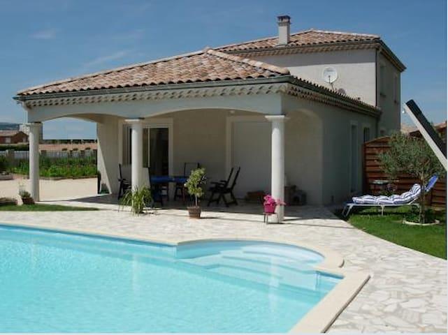 Chambre d'hôte / Piscine - Portes-lès-Valence - Bed & Breakfast