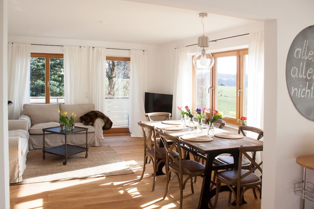 haus am see 2 reihenh user zur miete in breitbrunn bayern deutschland. Black Bedroom Furniture Sets. Home Design Ideas