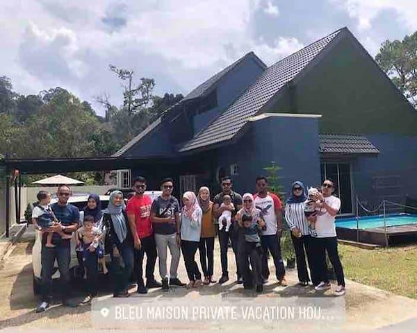 Bleu Maison Private Vacation House, Janda Baik
