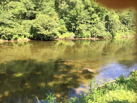 Tiny Home on the Tuck ( Tuckasegee River)