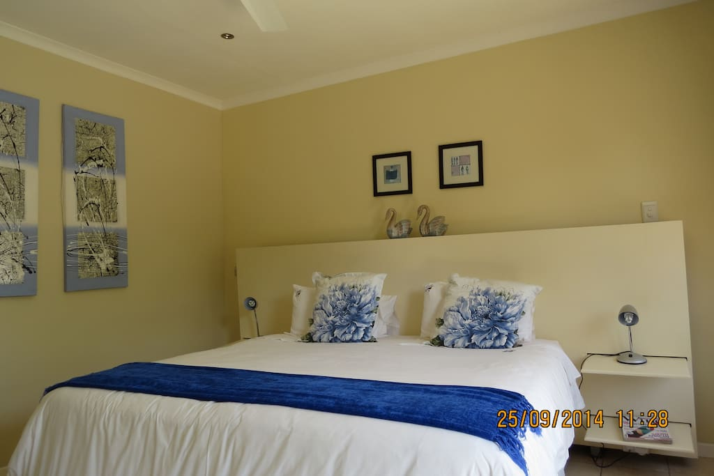 The four bedrooms can be either king or twin bedded
