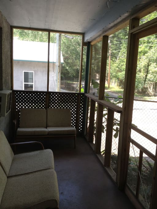 In Florida, a screen porch is a good thing.
