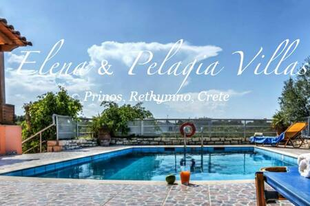 Villa Pelagia *CRETE* *Private Pool* 2bdrms *WiFi* - Vila