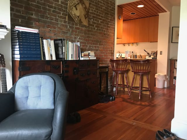 Beautiful apartment steps from Harvard Square