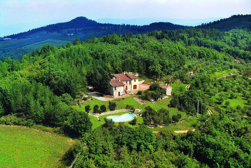 Villa  Aerial View - Relax in Nature