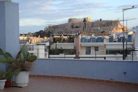 Central Penthouse, Acropolis view - Athina - 公寓