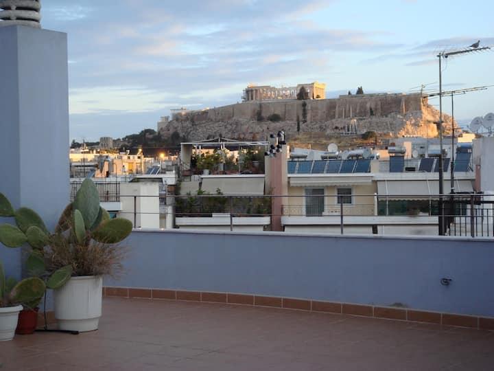 Central Penthouse, Acropolis view