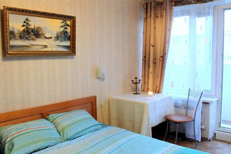 Room in the center near the metro - Москва - Apartemen