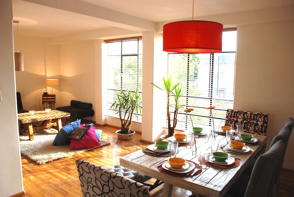 New Full Sunny Cozy Condesa Apartments For Rent In