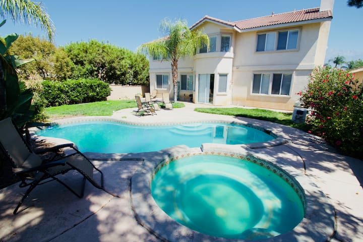 #160 Spacious Pool Home in Gated Community