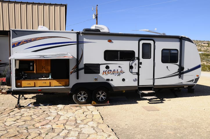 Koala travel trailer - Terlingua