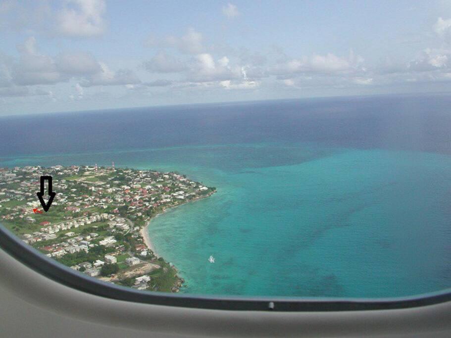 Aerial view of Enterprise / Atlantic Shores neighbourhood