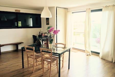 Loft  spacieux, terrasse avec vue sur luberon - Maubec - Apartmen